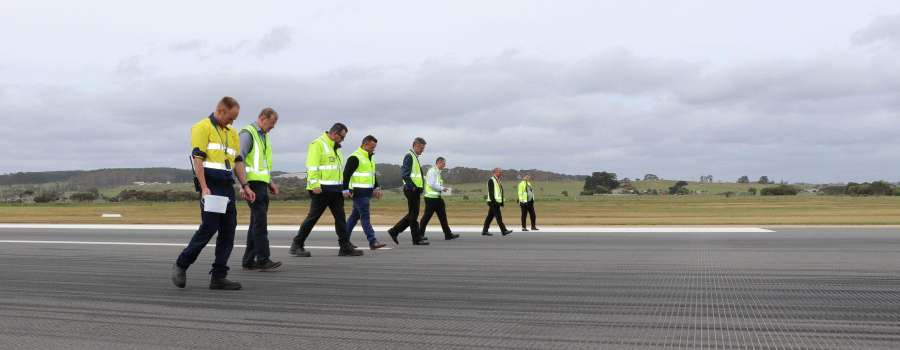 Safety takes off at Devonport Airport