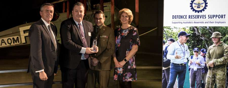 TasPorts wins National Defence Reserve Employer Support Award