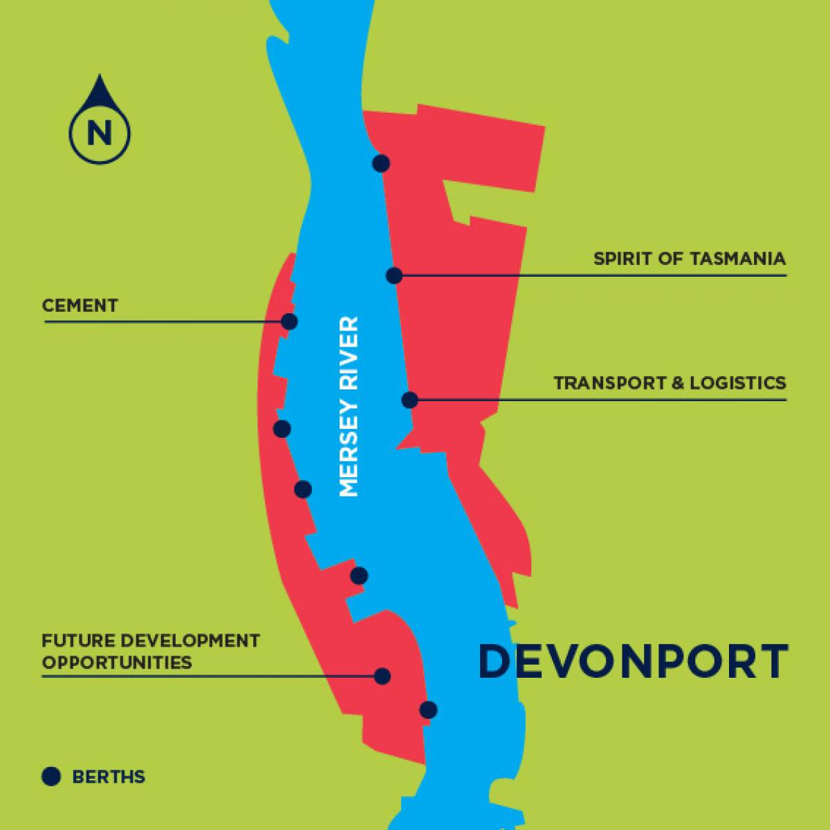 Devonport Map 2018